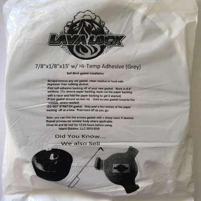 Lavalock BBQ Gasket Grey Lrg