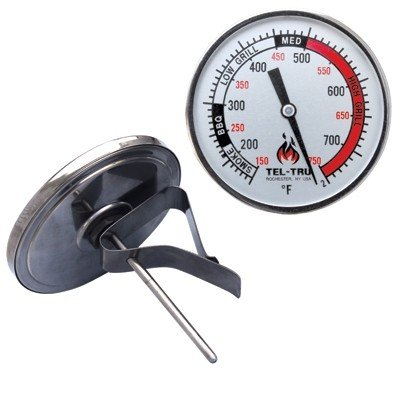 Tel tru BQ325R Kamado & Big Green Egg Thermometer