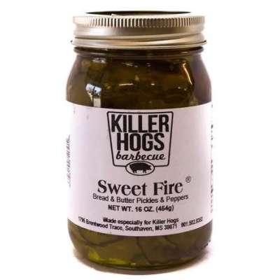 Killer Hogs Sweet Fire Pickle