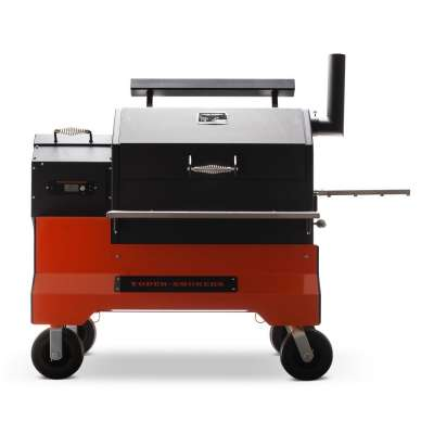 Yoder Smokers YS640s on Competition Cart with ACS