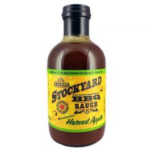 American Stockyard BBQ Sauce - Washington Harvest Apple 530ml