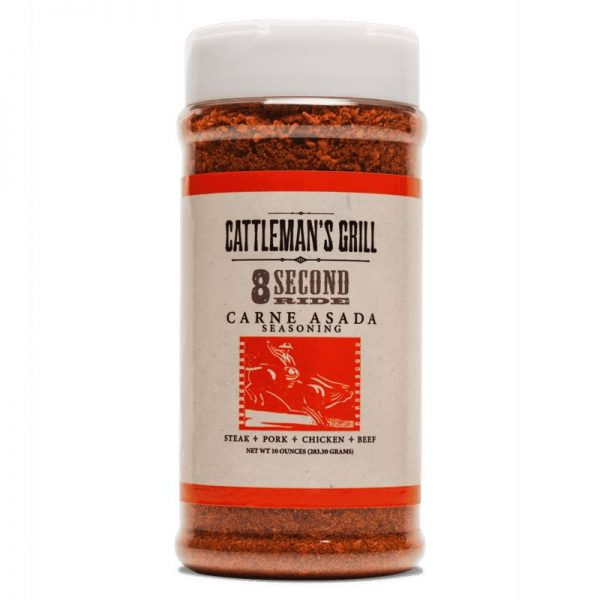 Cattleman's Grill 8 Second Ride Carne Asada Rub 10oz