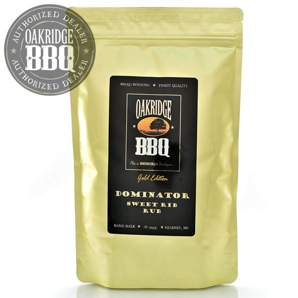 Oakridge BBQ - Gold Edition Dominator Sweet Rib