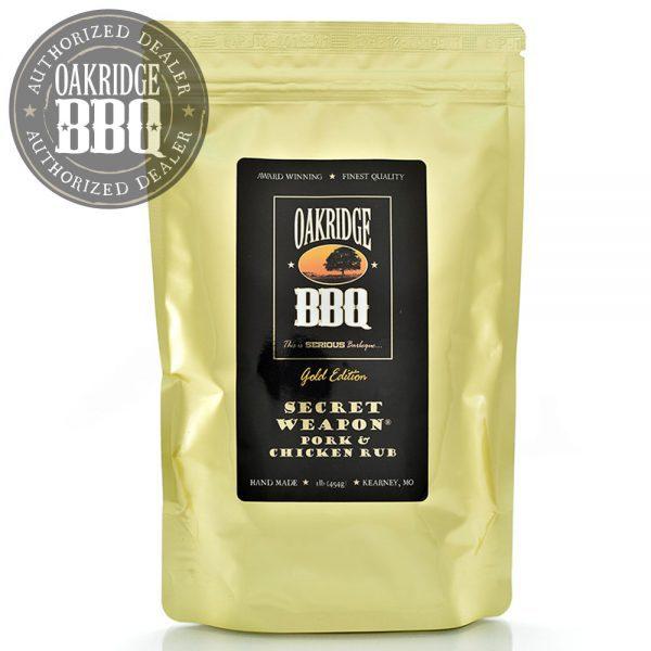 Oakridge BBQ - Gold Edition Secret Weapon Pork & Chicken Rub