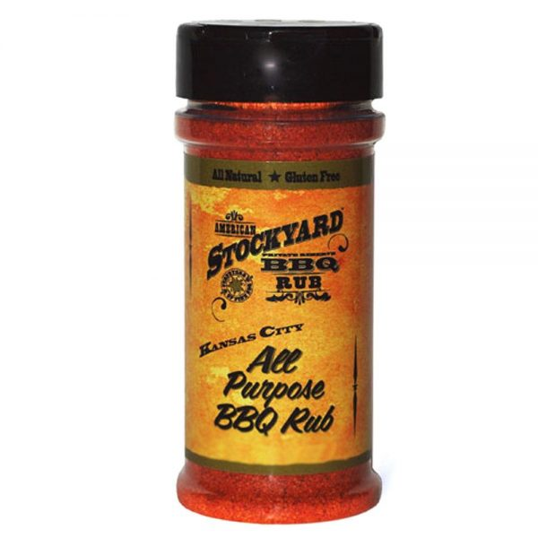 BBQ Rubs American Stockyard - Kansas City All Purpose BBQ Rub 156g