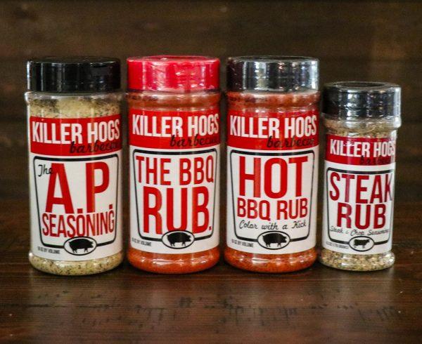 Killer Hogs Rub Gift Pack