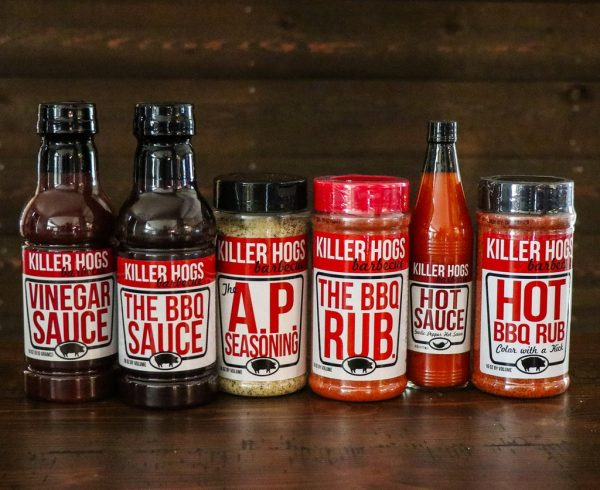 Killer Hogs Sampler Gift Pack