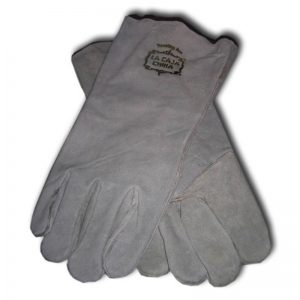 La Caja China Heavy Duty Leather Gloves