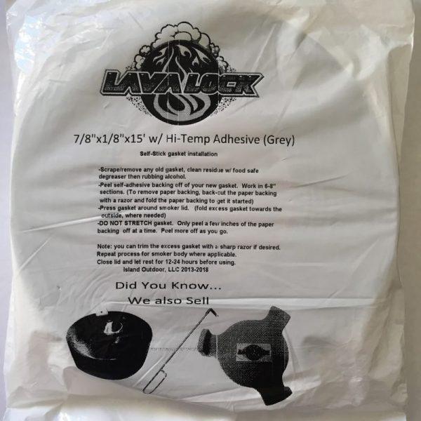 LavaLock® - BBQ Gasket - Grey 22mm x 3mm