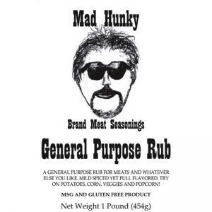 Mad Hunky General Purpose Rub