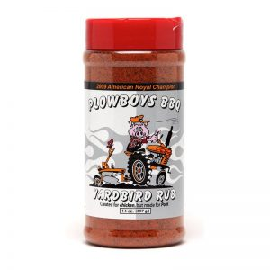 Plowboys Yardbird Rub 14oz
