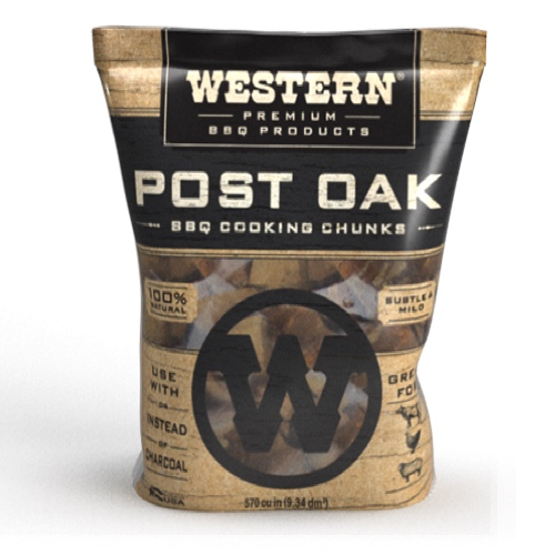 Western BBQ Post Oak Wood Chunks