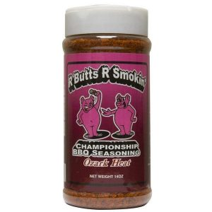 R Butts R Smokin' Ozark Heat BBQ Rub 14oz