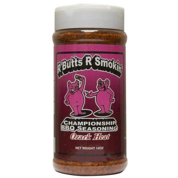 R Butts R Smokin' Ozark Heat BBQ Rub 14oz