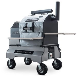 Yoder Smokers YS640 on Comp Cart Insulated Heat Blanket