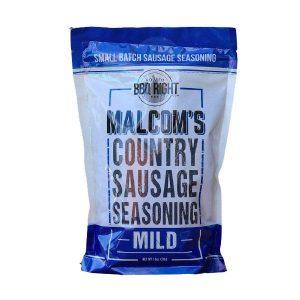 Malcoms-Country-Sausage-Seasoning-Mild-BBQsoftheWorld